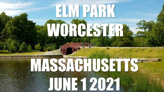Elm Park Worcester Massachusetts