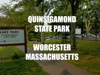 Lake Park - Quinsigamond State Park and Beach - Worcester Massachusetts
