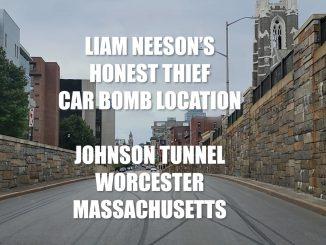 Liam Neeson Honest Thief Car Bomb Location - Johnson Tunnel Worcester Massachusetts