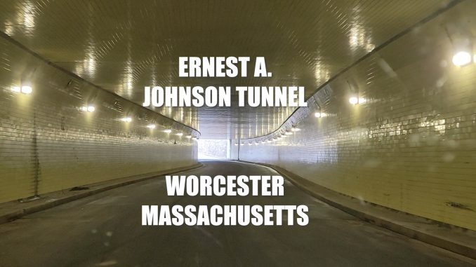 Ernest A. Johnson Tunnel Worcester Massachusetts Filming Location for Black Panther 2 & Honest Thief